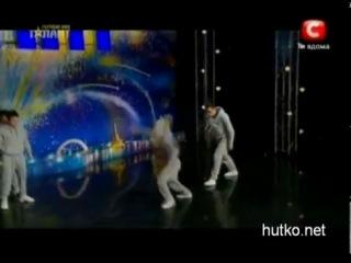 Украина ищет таланты,Crazy Jump 100 % - Нереальный номер!